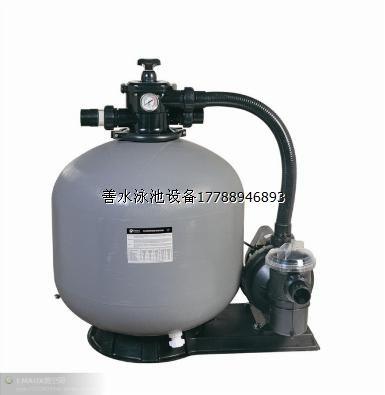 砂缸连水泵泳池一体机