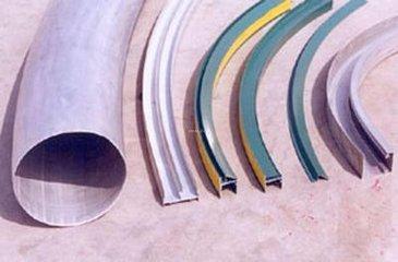 型材拉弯变弯的极限是什么?