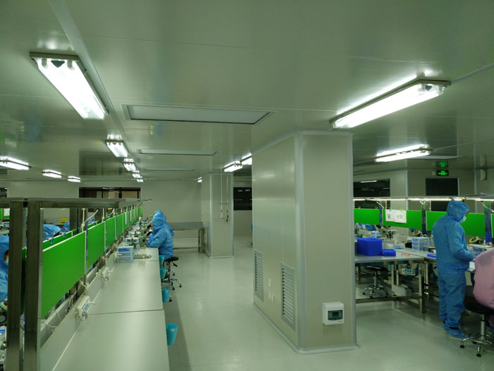 光隆光电科技无尘室及机电安装工程