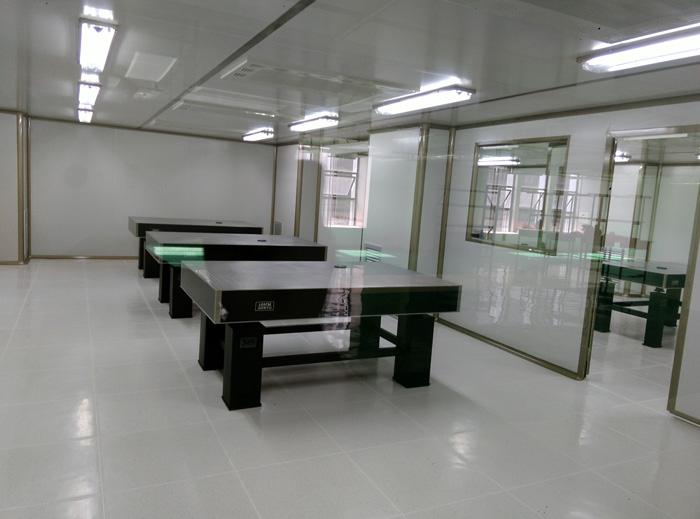 广东顺德工业设计研究院光学实验室净化建设