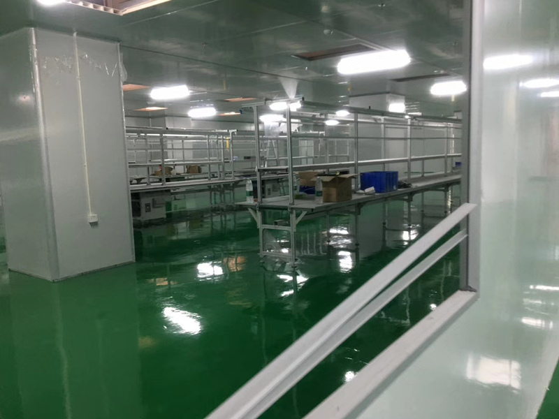 安徽毅昌科技注塑净化车间设计与装修