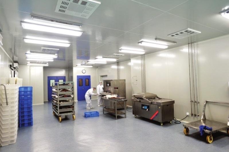 熟食类食品车间10万级洁净厂房工程设计装修