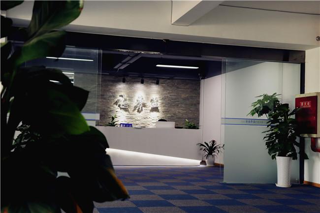三楼办公室前台