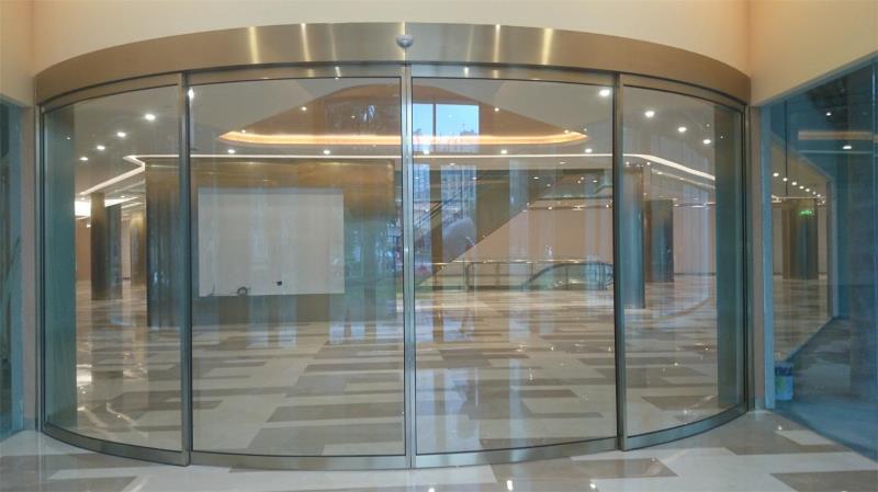 西安弧形门