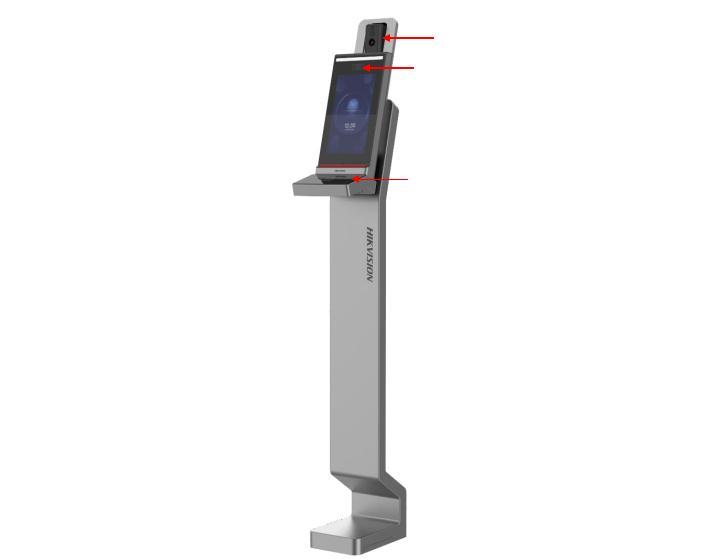 通关体温筛查-立式测温人脸一体机