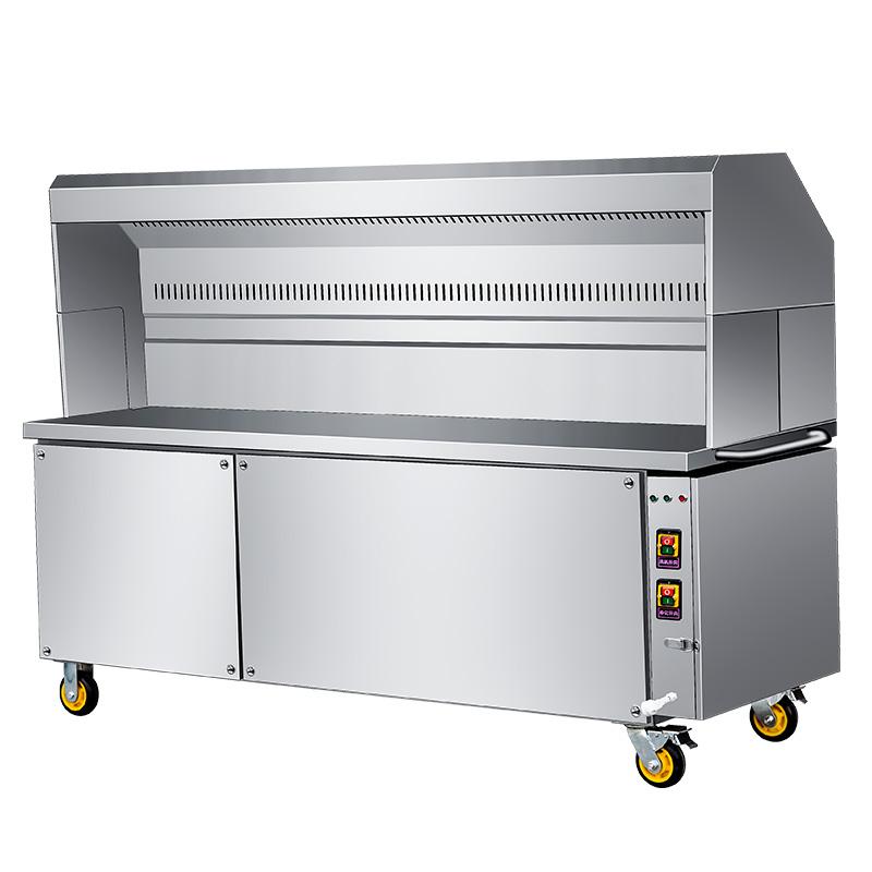 关于环保烧烤车的原理你知道多少?