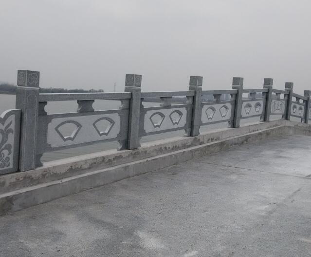 汉白玉石材栏杆雕刻