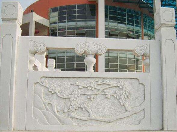 栏杆板雕刻展示