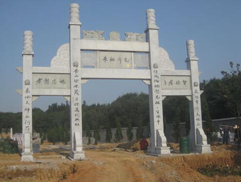 襄阳石材牌坊雕刻厂家展示