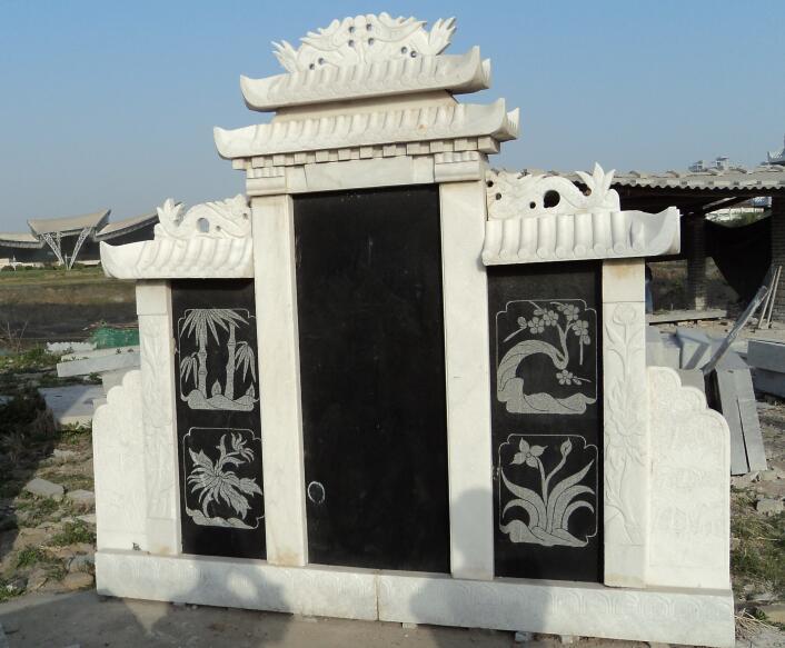 鑫生辉石材墓碑雕刻定做厂家作品展示