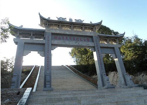 襄阳鑫生辉古代石材牌坊展示