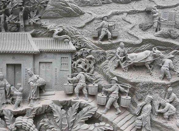 襄阳雕刻厂家介绍为什么石雕狮子的嘴里会含着珠子