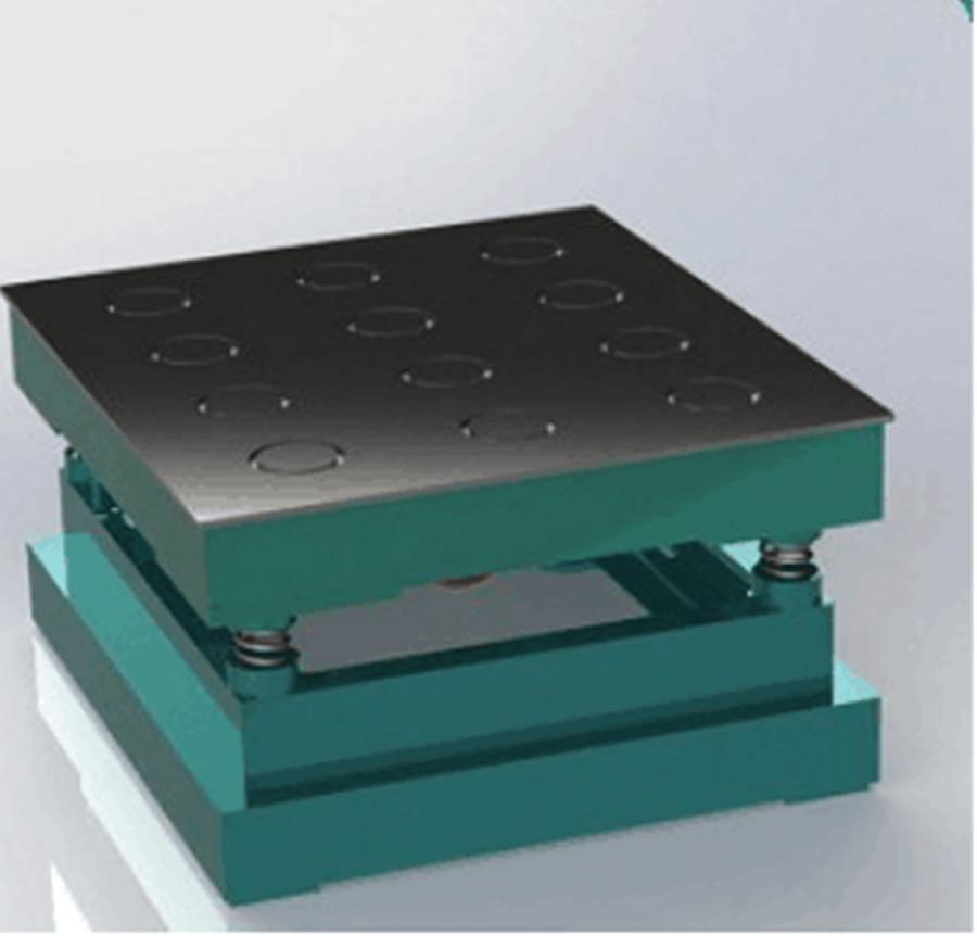 E018 砌墙砖抗压强度磁力振动台ZHDC-DD