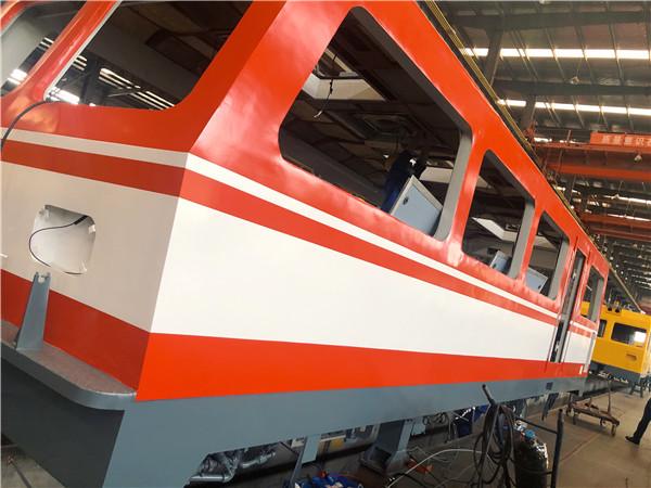 湖北新能源电机车走行装置