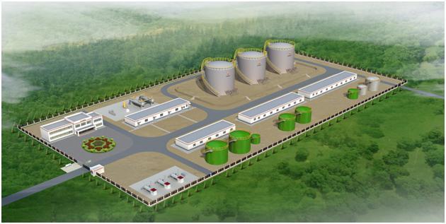 石油天然气集输站