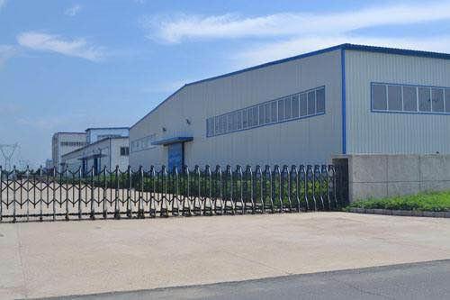 安康市川品建材工厂外景展示