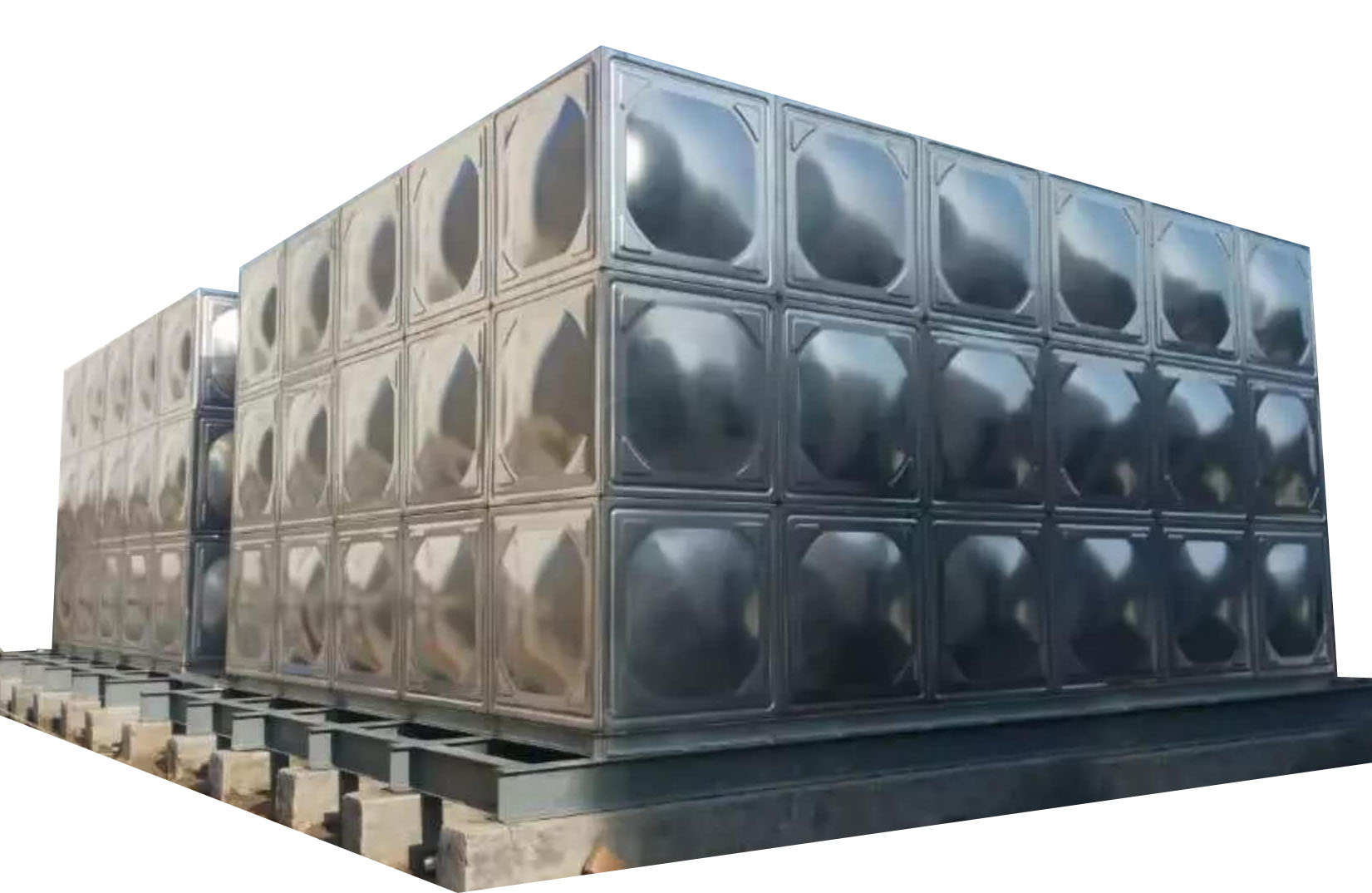 陜西不銹鋼保溫水箱_90t-444單層水箱