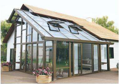 某客户与栩通装饰合作安装阳光房案例