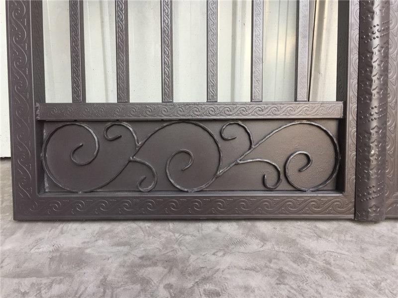 锌钢花纹管艺术庭院门