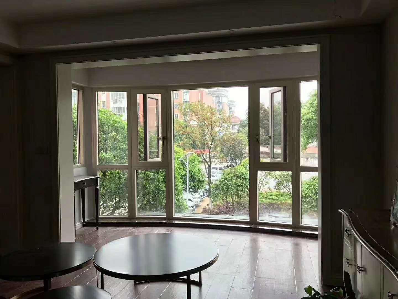 湖北门窗定制_铝合金双层钢化中空玻璃门窗厂家