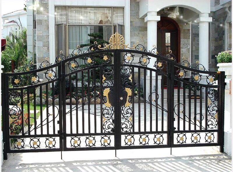 碧桂园安装铝制庭院门