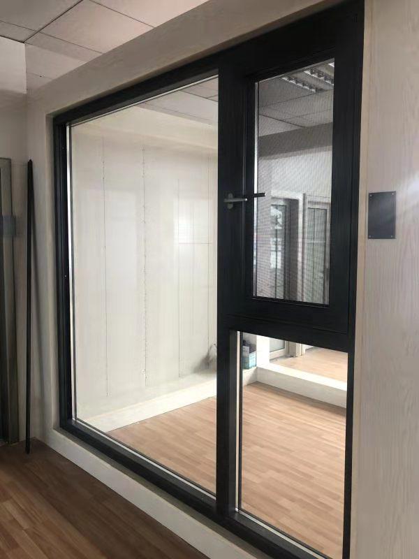 高档铝合金门窗安装制作