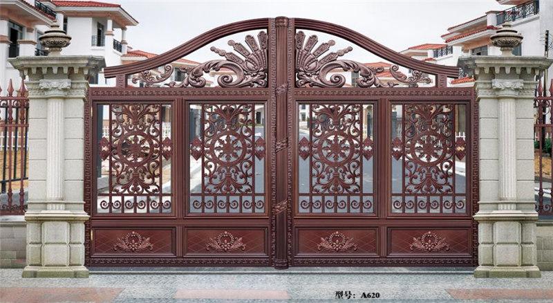 铝艺庭院门制作
