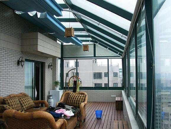 阳光房安装