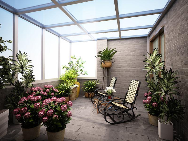 不想让阳光房变成桑拿房,在施工时要考虑到散热的问题,可以从这三方面入手