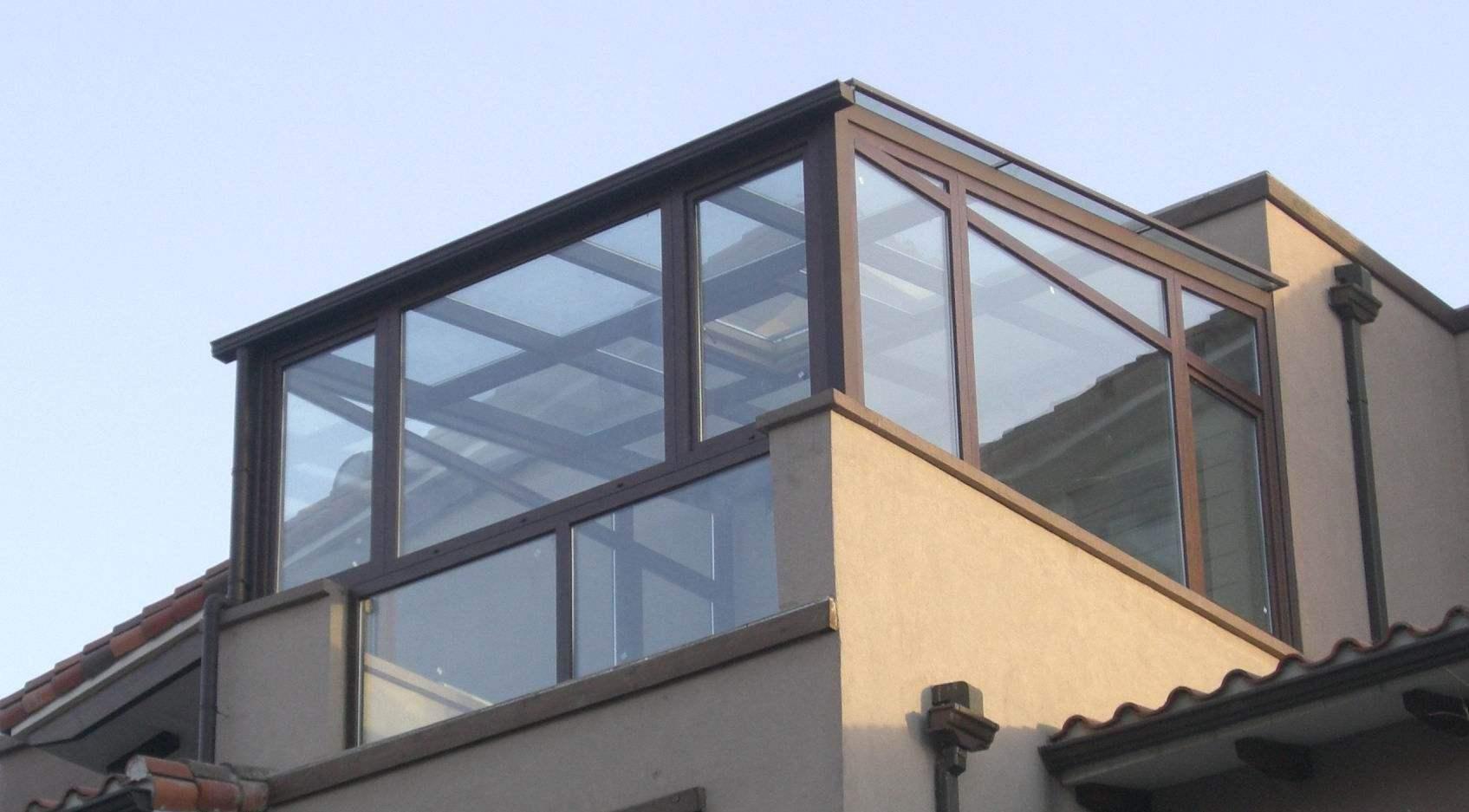 为某小区陈先生设计安装阳光房