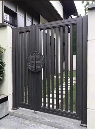 住宅别墅铝艺小门_支持上门进行测量定制设计服务