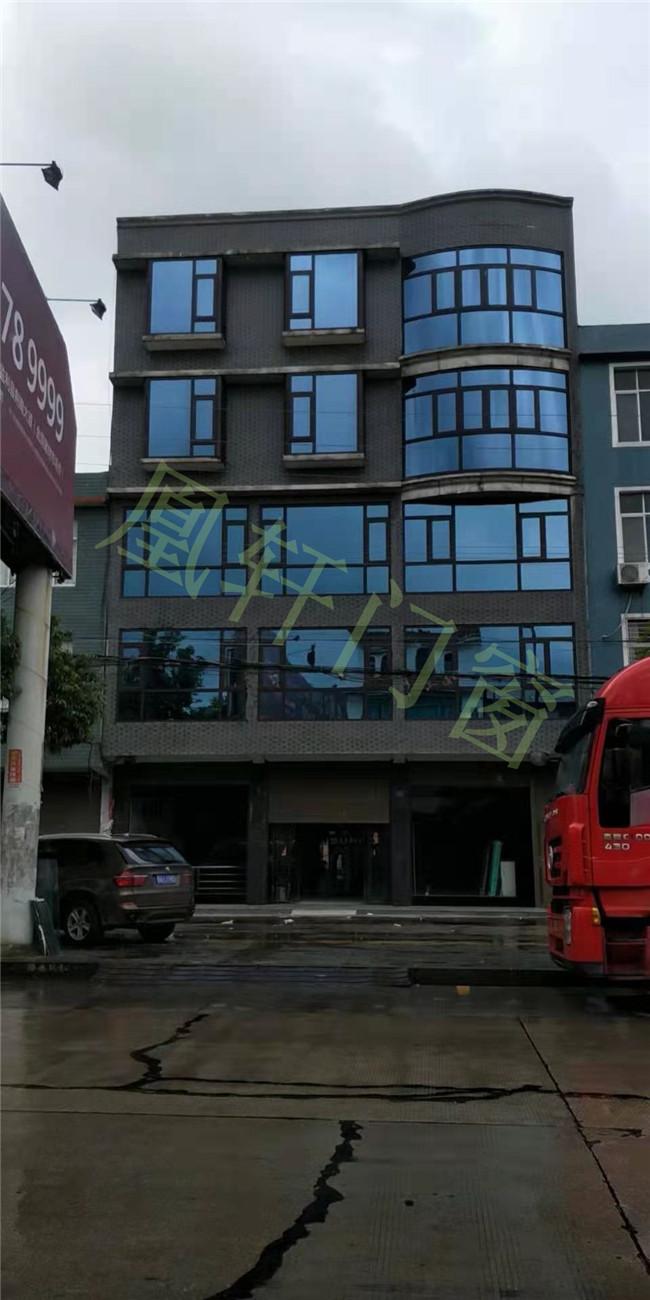 凰轩门窗为荆门某办公楼安装窗户案例分享