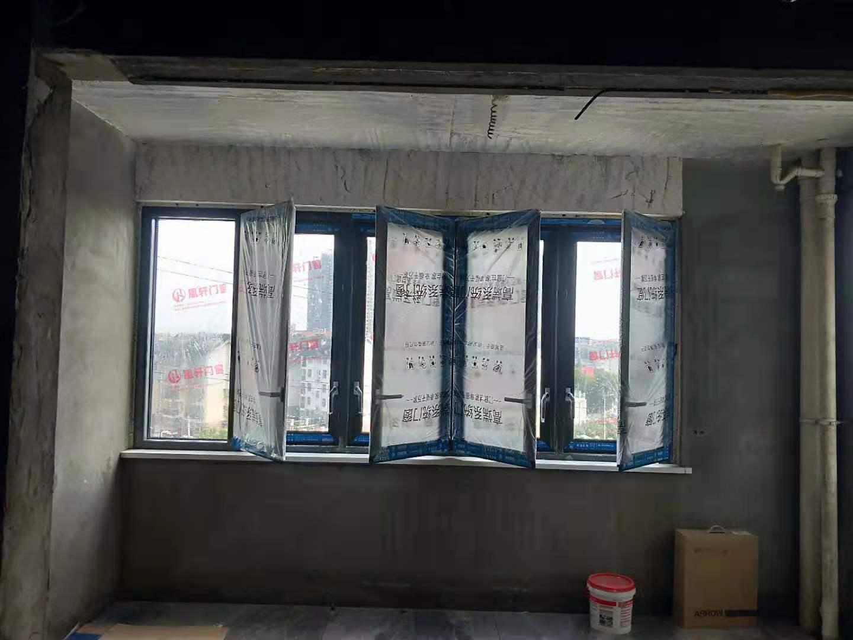 凰轩门窗为长江尚品某业主安装窗户