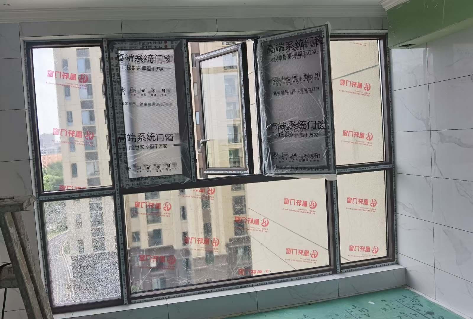 凰轩门窗为壹号院某业主安装窗户