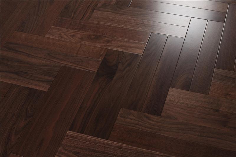 黑胡桃,HTM-001实木木地板