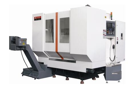 JN-H63(发那科0i -MF系统皮带传动6000rpm) 卧式加工中心