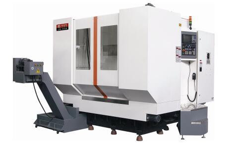 JN-H50(发那科0i- MF系统皮带传动6000rpm)卧式加工中心