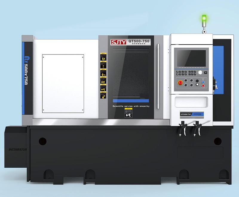 QT500-750斜床身数控硬车机床
