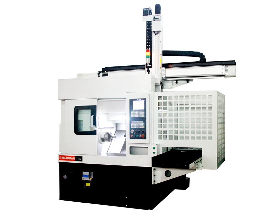 T40-AUTO小型盘(轴)类零件桁架自动化标准机