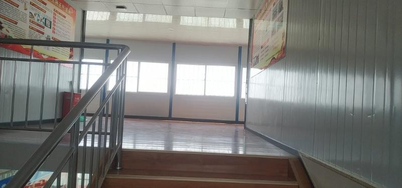 襄州某生产厂的活动板房内部案例展示