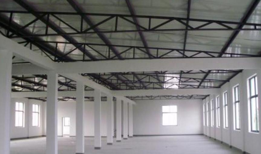 襄阳某工厂的钢构厂房案例展示