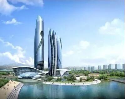 怎样做好超高层钢结构厂房工程??别急!来看看皓蓝是怎么做的吧!
