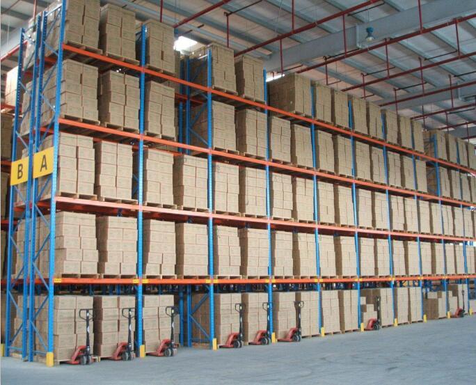 重型隔板货架案例