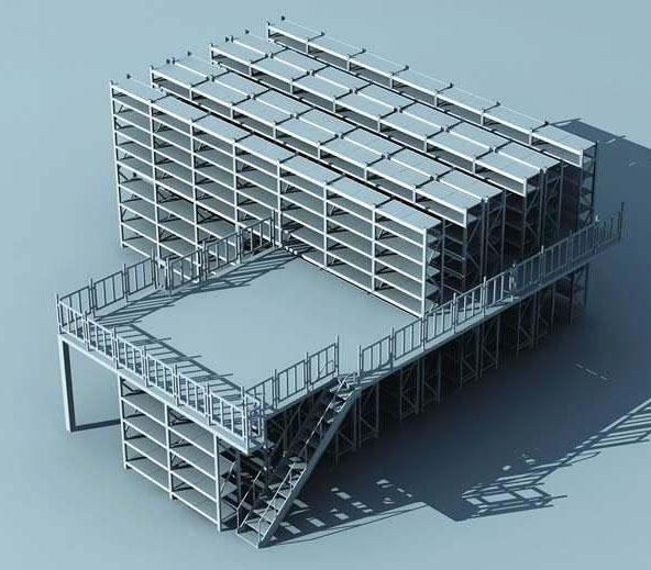 怎么对成都阁楼货架进行安装搭建