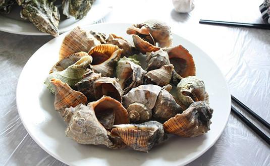 哈仙岛美食——哈仙岛金海湾美食