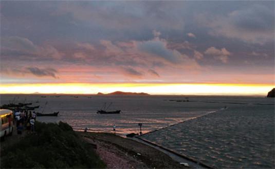 哈仙岛风光,避暑旅游为热门