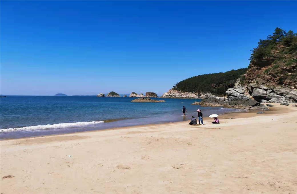 哈仙岛金沙滩
