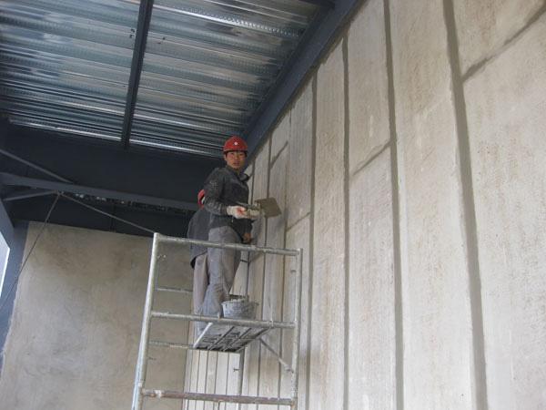 洛阳轻质隔墙板工程案例