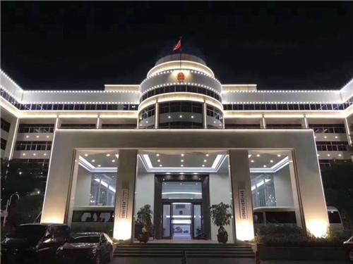 河南市政大楼亮化工程