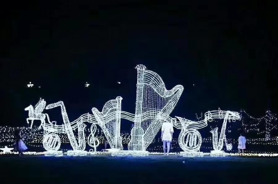 河南彩灯制作